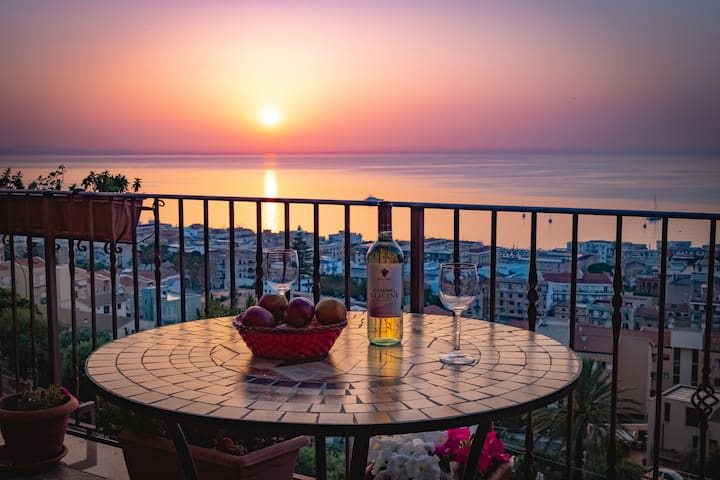 Skyline Cefalù, luxury apartment