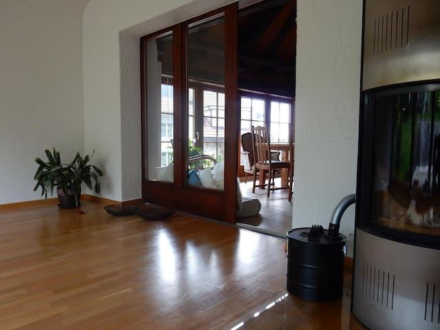 kleines Zimmer in den Nuglar Gärten