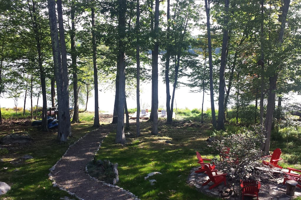 View from House Deck