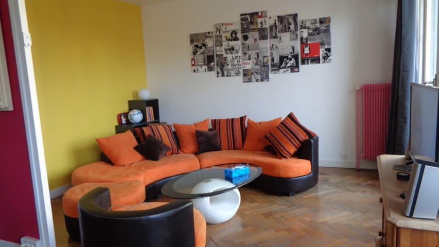 Charmant appartement de 60m² calme, proche Lyon