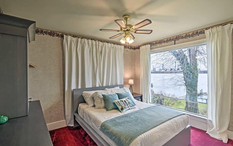 Main floor: Bedroom #1 has the best view!