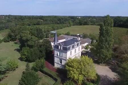 Gîte de charme au cœur d'un Château Viticole
