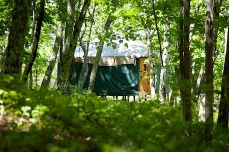 20' Yurt in the Shawangunk Mountains