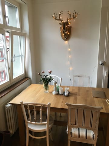 Beautiful apartment close to BASELWORLD - Basel - Daire