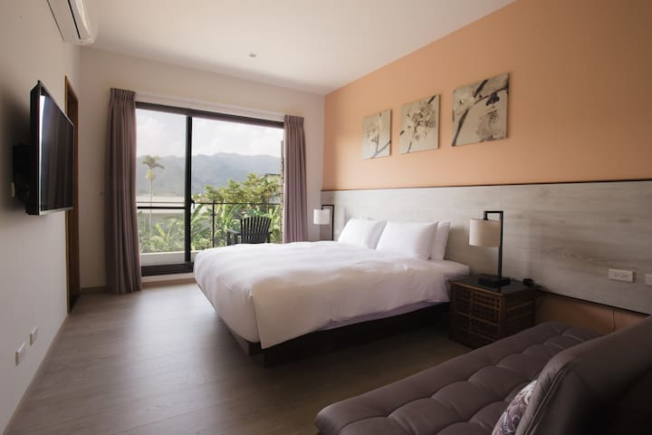 宜蘭三星雷院子 Lei Garden Inn - Double Bedroom 喜樂房 - Sanxing Township - Bed & Breakfast