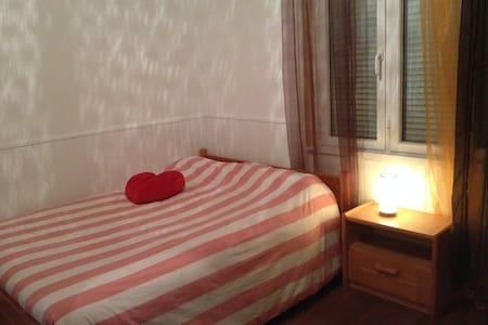 Maison avec grande chambre, plages, proche Lorient - Locmiquélic - Dům