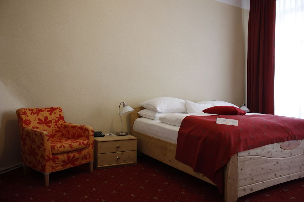 Doppelbett double room