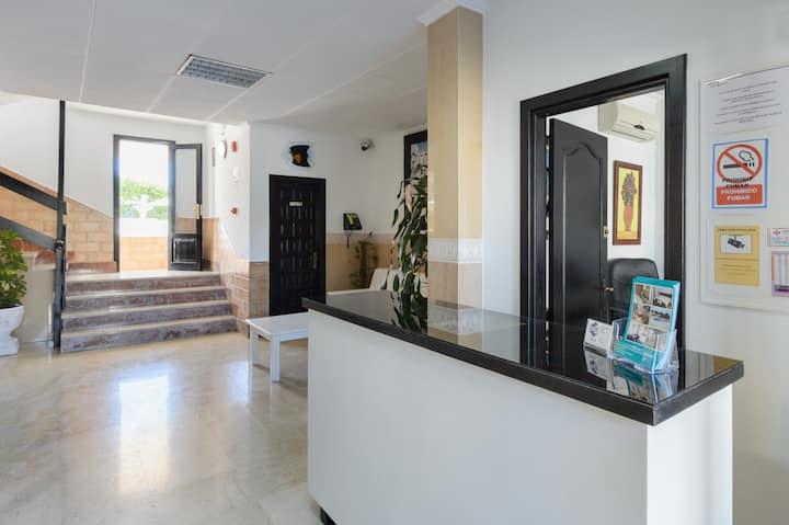 Apartamento triple vista Mar parcial