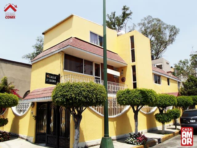 Habitación privada en Ciudad de México - Mexiko-Stadt - Haus