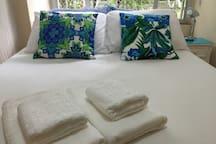 Conforto (roupa de cama e toalhas). Comfort (bedding and towels)