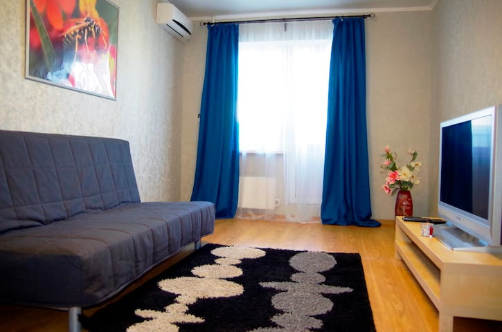 Clean and comfortable flat 999 m off the beach - Новороссийск - Apartament
