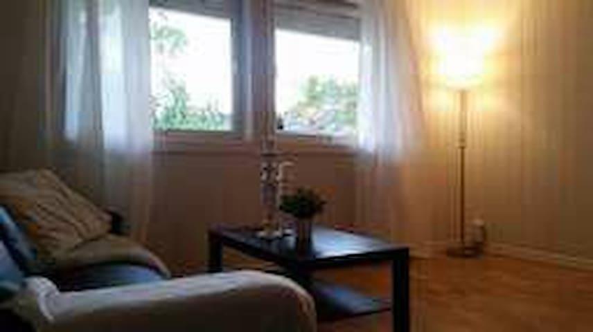 Fin leilighet 10 min nord for Kristiansand sentrum