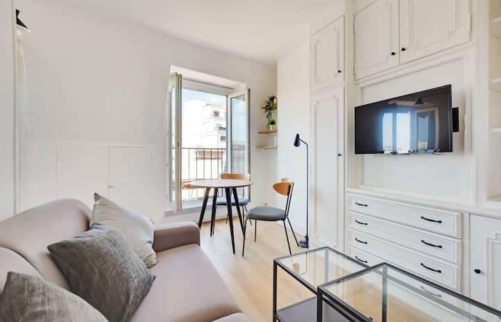 Superb luminous studio - Clichy / Montmartre