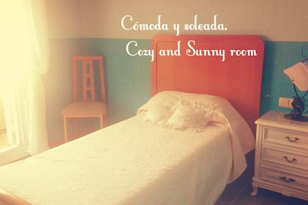 Cosy and lovely rooms , 2'8 km to the beach! - Almería