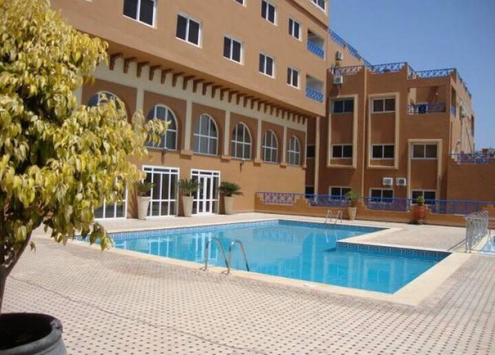 Apartment pool&sea view