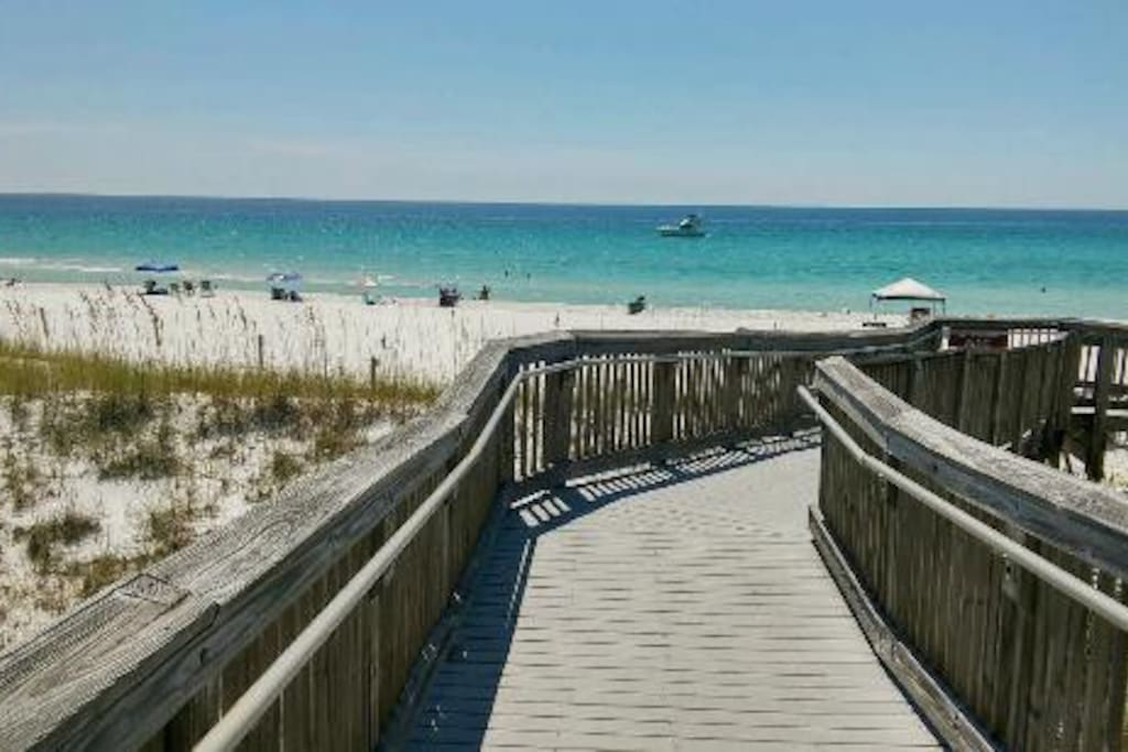 Henderson Beach State Park is 208 acres of paradise located a short drive away!