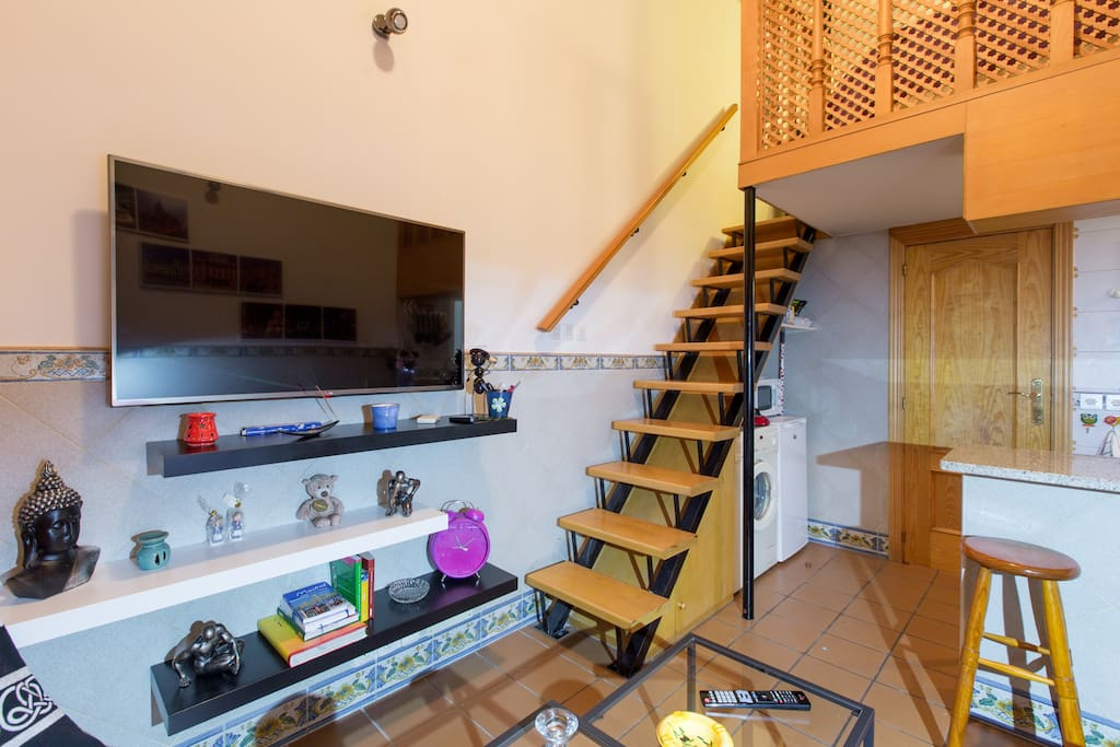 charmante wohnung in lavapies wohnungen zur miete in madrid comunidad de madrid spanien. Black Bedroom Furniture Sets. Home Design Ideas
