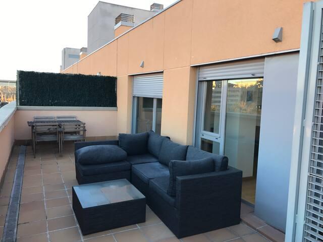 Gran Atico en Las Tablas - Madrid - Lägenhet