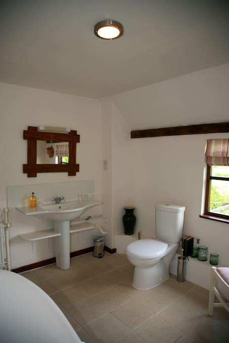 Pine bathroom