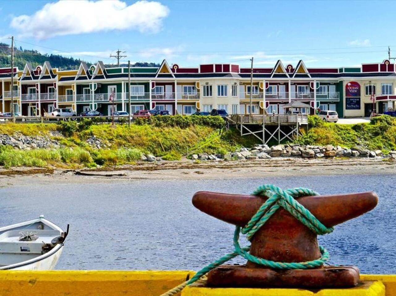 Ocean View Hotel beach