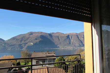 apartament with  balcony beautiful view - Crebbio