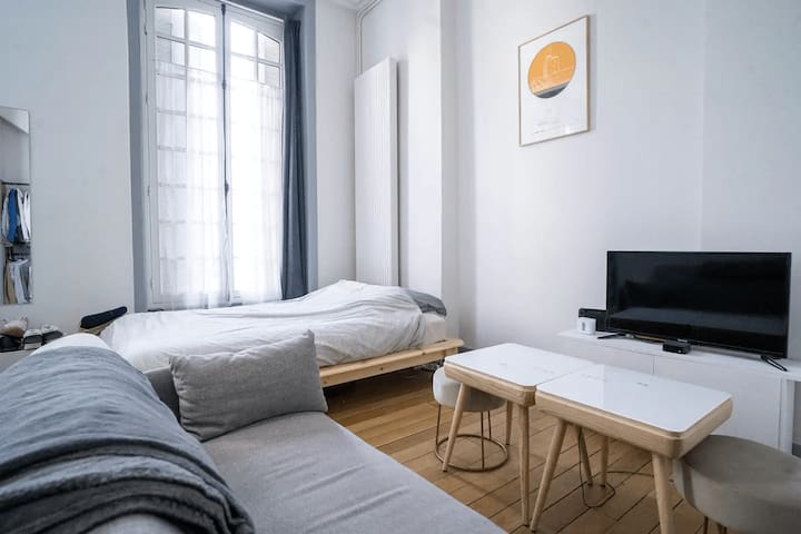 Superb bright apt in the heart of Paris
