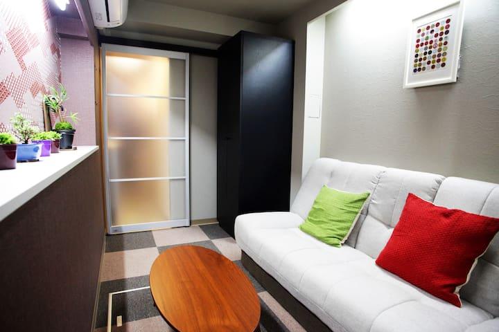 Room like Hideout in Tokyo 1 - Shinagawa-ku - Apartamento