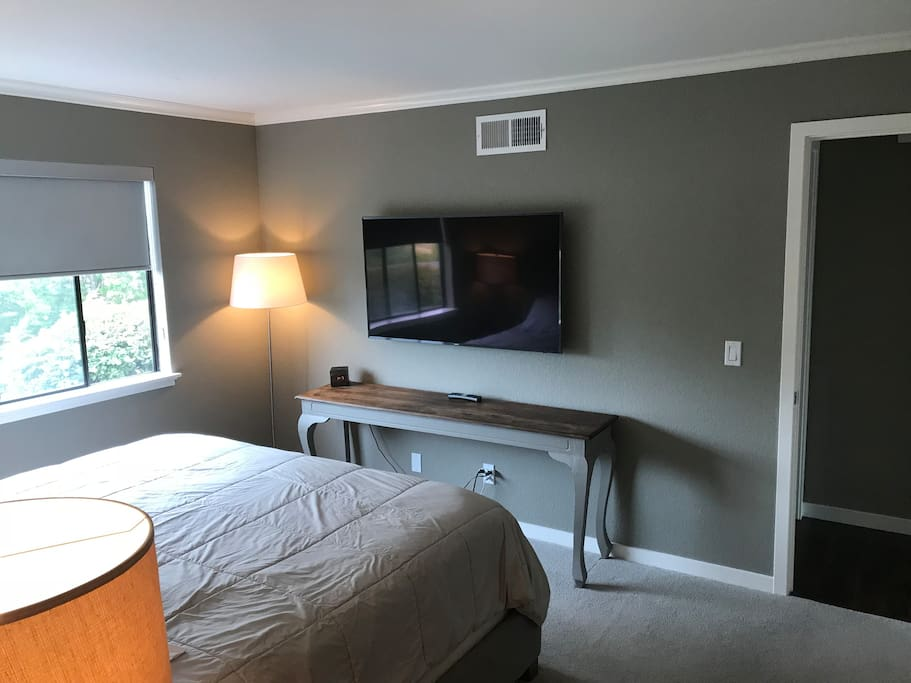 "50""TV in Master Bedroom"