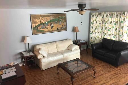Peaceful, Convenient Detached Apartment