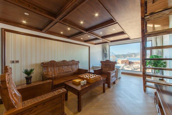 中式阳光星空湖景套房 - Lijiang