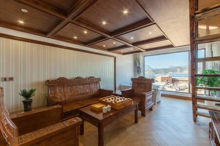 中式阳光星空湖景套房 - Lijiang - Mobilyalı daire