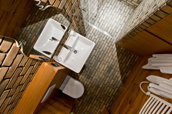 Bathroom from the top