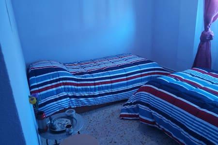 Habitación doble. Dos camas de 90 - Medina del Campo