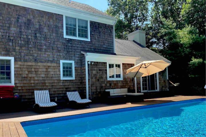Sag Harbor, Pool, 4 bedroom 3 Bath Hamptons House