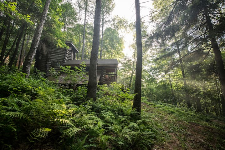 Off the grid cabin in the Green Mountains - Bolton - Kabin