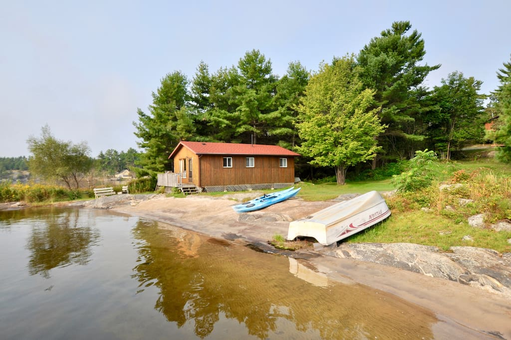 Georgian bay guest cottage 1 guesthouses for rent in for Georgian bay cabin rentals
