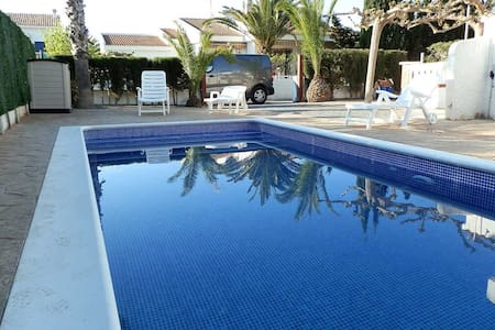 CASA PALMERESS 4,Ideal house for your holidays near the sea, free wifi, air conditioning, private pool, pets allowed, dog's beach.