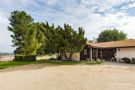 The Ranch, peaceful rural atmosphere.
