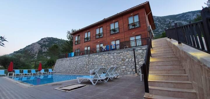 adrasan'ın en yeni oteli