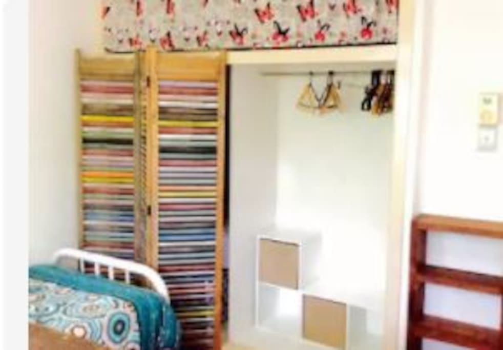 Plenty of storage space in each bedroom for you to make yourself at home