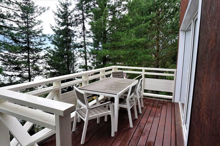 Дом №2 с прекрасным видом на Телецкое озеро