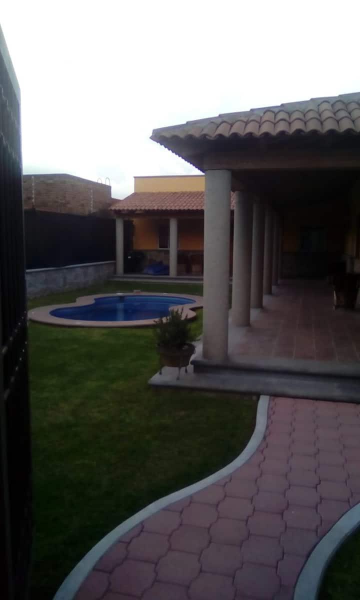 bungalos santa lucia con alberca