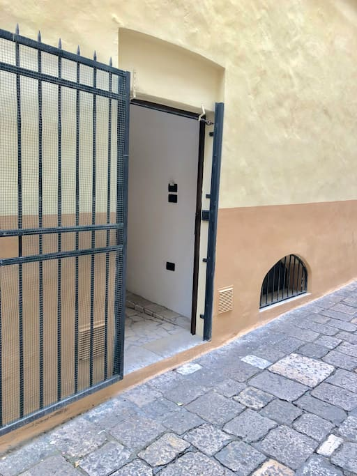 Entrata-Casa Carparo
