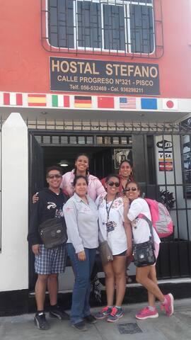 Hospedaje en Pisco cerca a Plaza de Armas