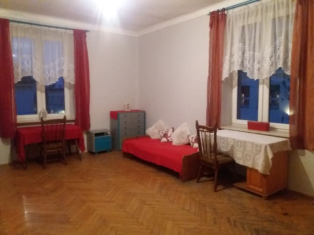 Spacious room in the center of Kraków