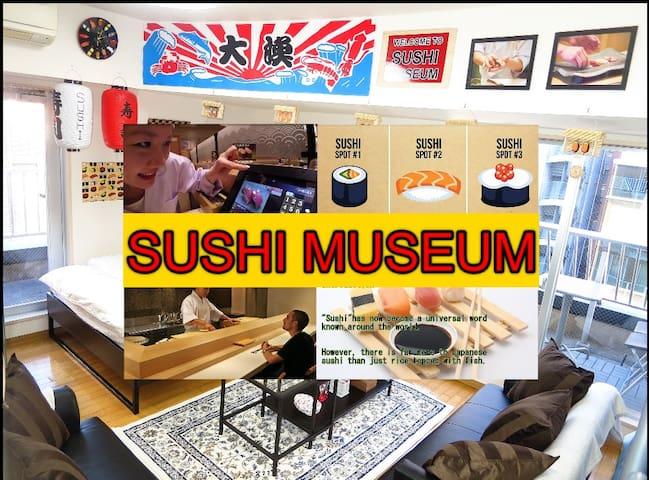 New Open!3mins Sta/SUSHI MUSEUM in Shinjuku/Wifi - Shinjuku-ku