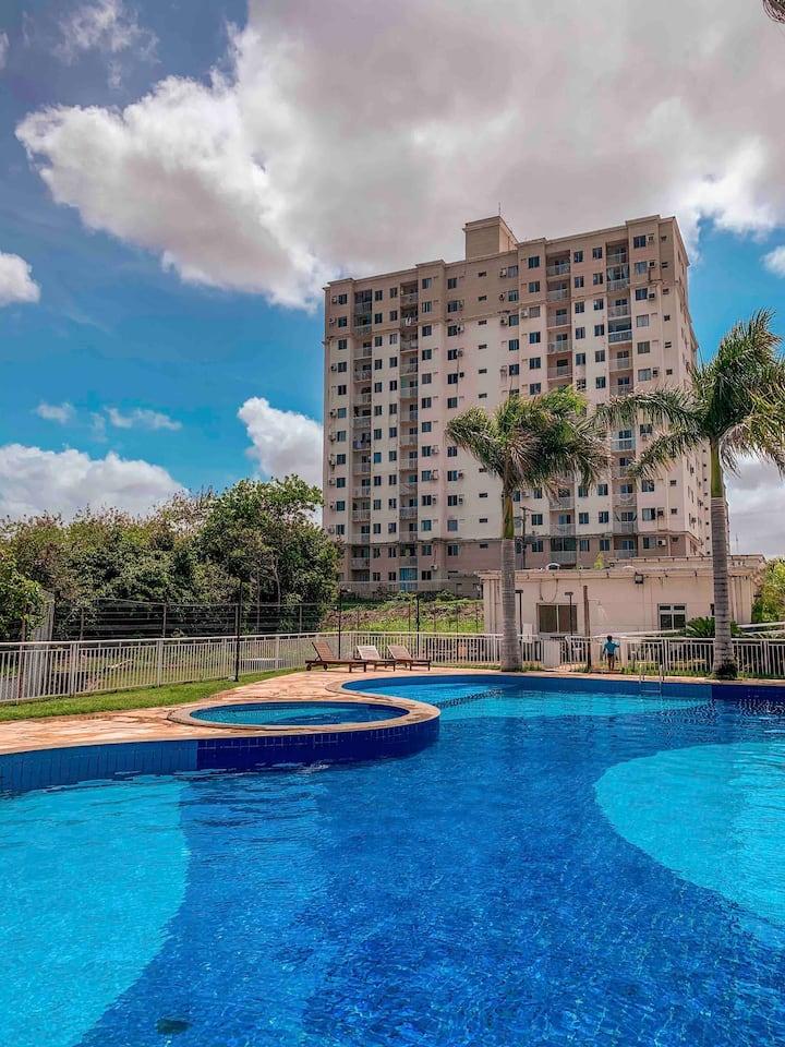 Apartamento 11° andar e próximo à praia do Araçagy