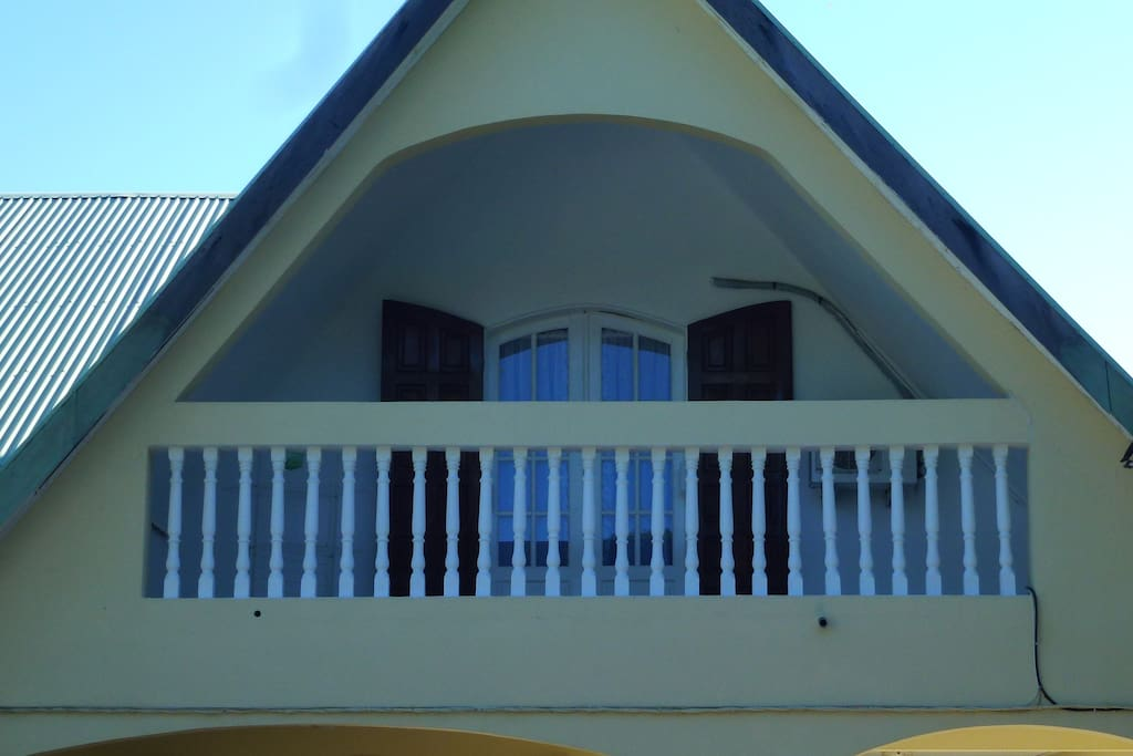 La chambre avec la terrasse