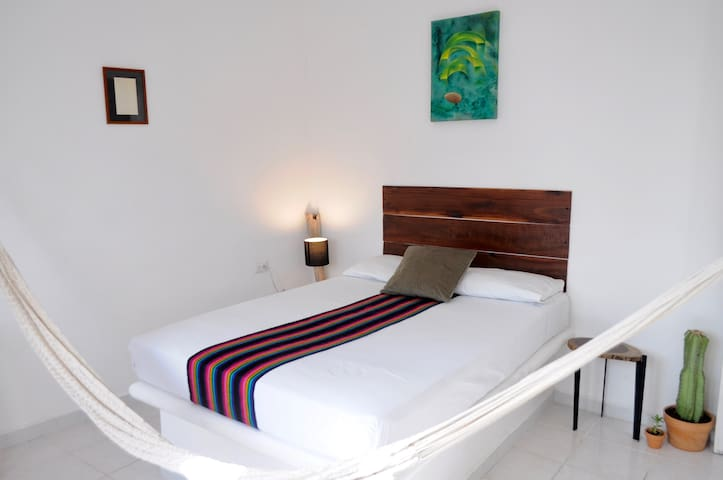 Two Bedrooms Flat in the Heart of Tulum Downtown