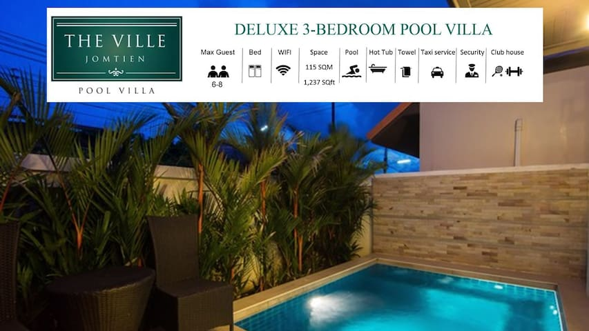 25% OFF 3BR Private Pool Villa 8 PX | Jagucci
